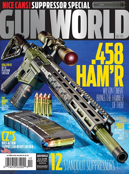 Gun World Cover - 10/1/2018