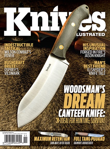 Knives Illustrated Cover - 11/1/2018