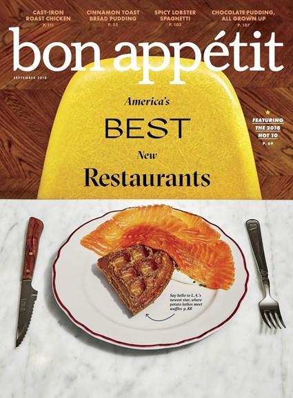 Bon Appétit Cover - 9/1/2018