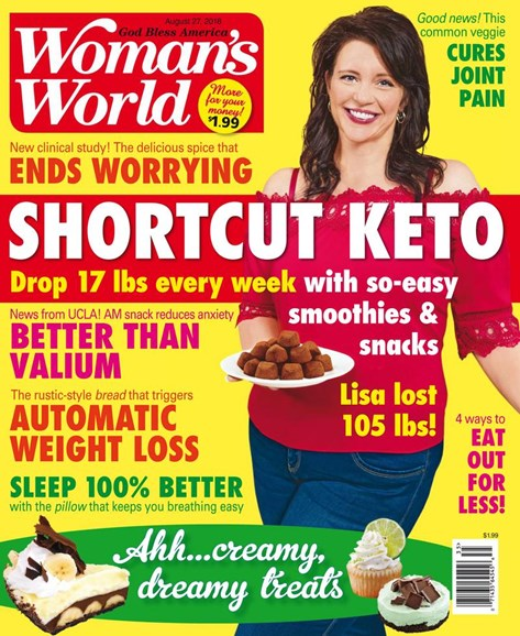 Woman's World Cover - 8/27/2018