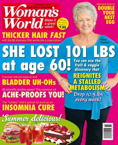 Woman's World Cover - 9/3/2018