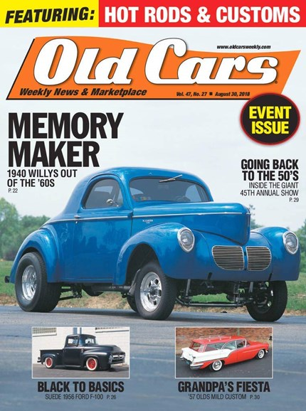 Old Cars Cover - 8/30/2018