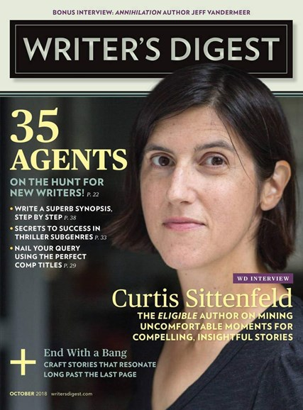Writer's Digest Cover - 10/1/2018
