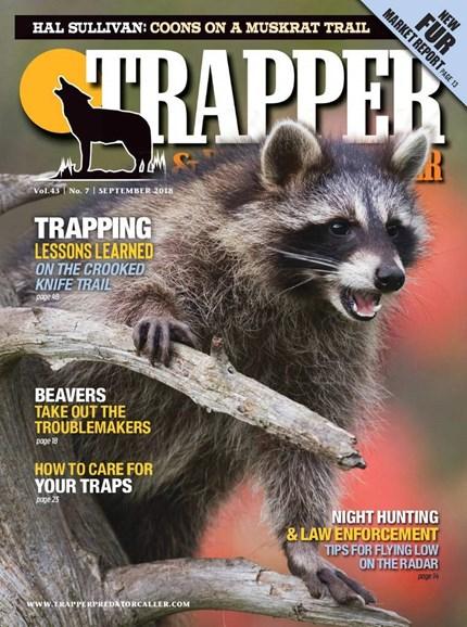 Trapper & Predator Caller Cover - 9/1/2018
