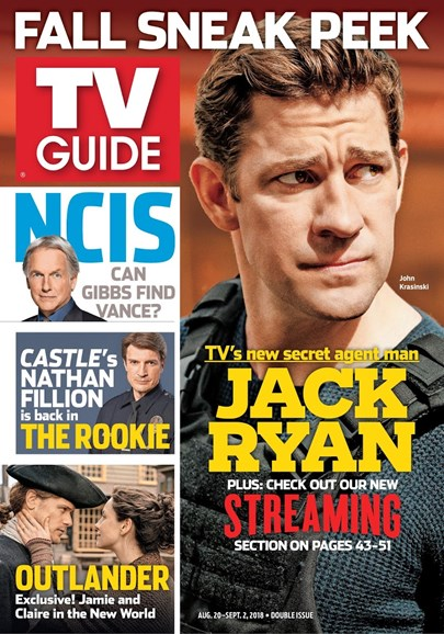 TV Guide Cover - 8/20/2018