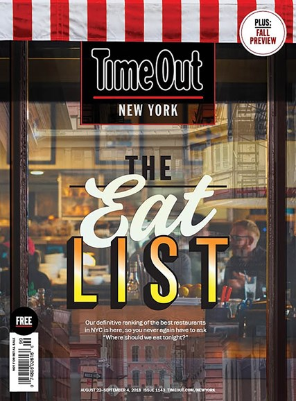 Time Out New York Cover - 8/22/2018