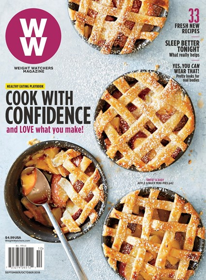 Weight Watchers Magazine Cover - 9/1/2018