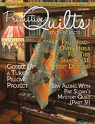 Primitive Quilts and Projects 9/1/2018
