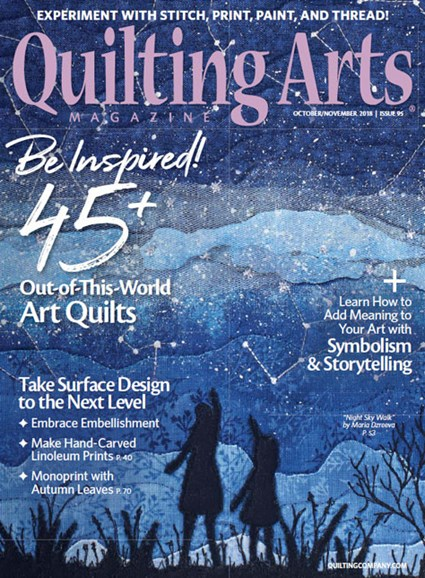 Quilting Arts Cover - 10/1/2018