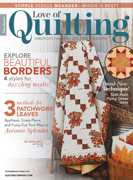 Fons & Porter's Love of Quilting Cover - 9/1/2018