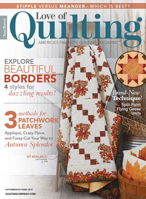 Fons Porters Love Of Quilting Magazine Agent