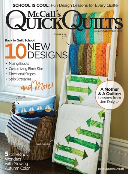McCall's Quick Quilts Cover - 8/1/2018