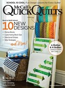 Quick Quilts Magazine | 8/2018 Cover
