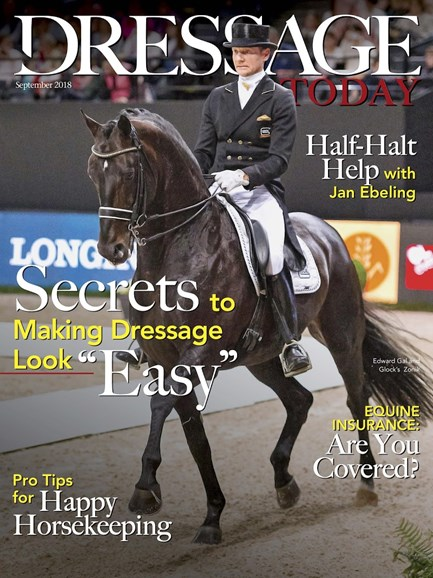 Dressage Today Cover - 9/1/2018