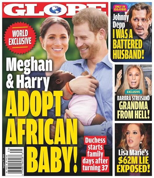 Globe Cover - 8/27/2018