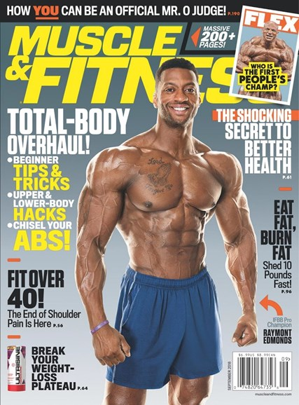 Muscle & Fitness Cover - 9/1/2018