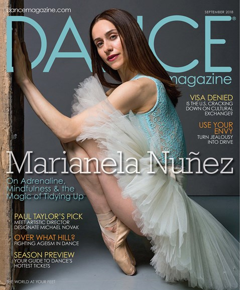 Dance Magazine Cover - 9/1/2018