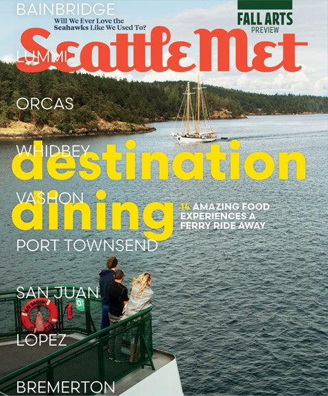 Seattle Met Cover - 9/1/2018
