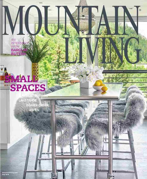 Mountain Living Cover - 7/1/2018
