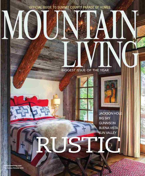 Mountain Living Cover - 9/1/2018