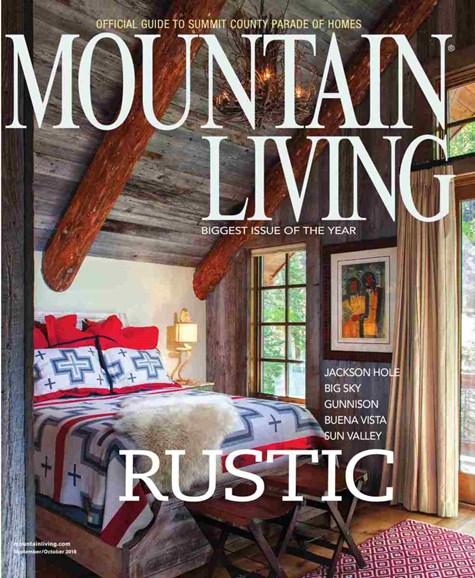 Mountain Living Cover - 9/1/2018