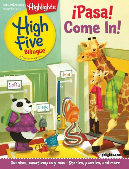 Highlights High Five Bilingue Cover - 9/1/2018