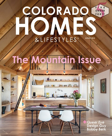 Colorado Homes & Lifestyles Cover - 8/1/2018