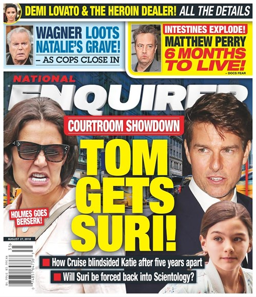 National Enquirer Cover - 8/27/2018