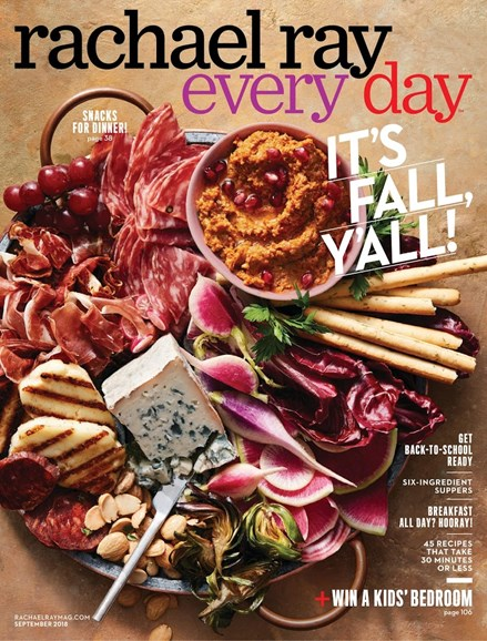 Rachael Ray Every Day Cover - 9/1/2018