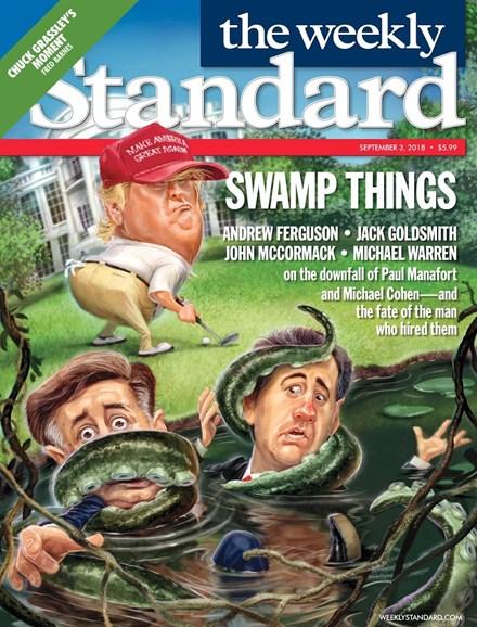 Washington Examiner Cover - 9/3/2018