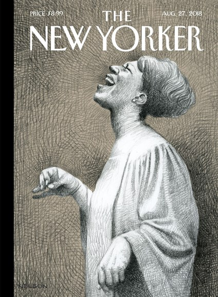 The New Yorker Cover - 8/27/2018