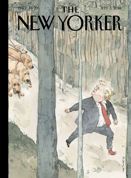 The New Yorker Cover - 9/3/2018