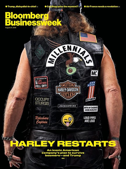 Bloomberg Businessweek Cover - 8/27/2018
