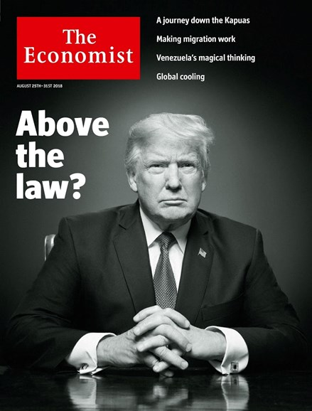 The Economist Cover - 8/25/2018