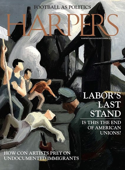 Harper's Cover - 9/1/2018