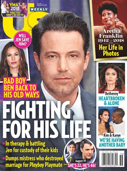 Us Weekly Cover - 8/27/2018