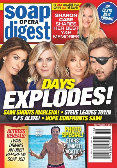 Soap Opera Digest Cover - 9/3/2018