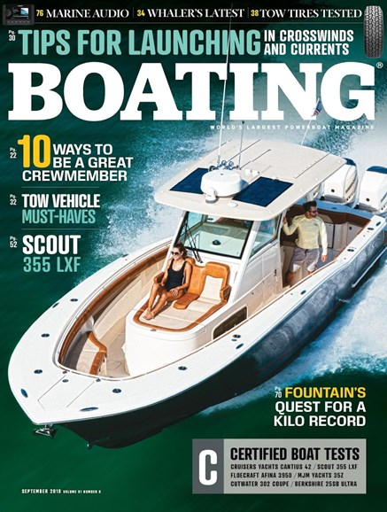 Boating Cover - 9/1/2018