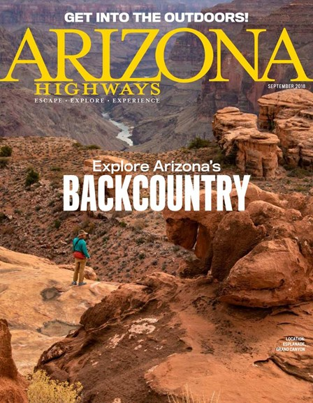 Arizona Highways Cover - 9/1/2018
