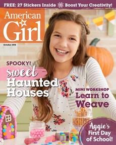 American Girl | 10/2018 Cover