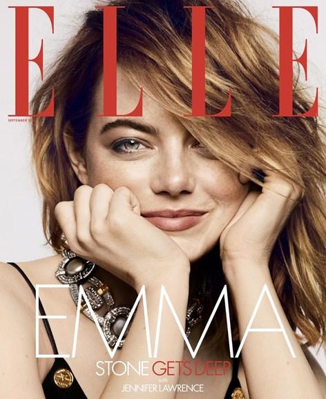 ELLE Cover - 9/1/2018