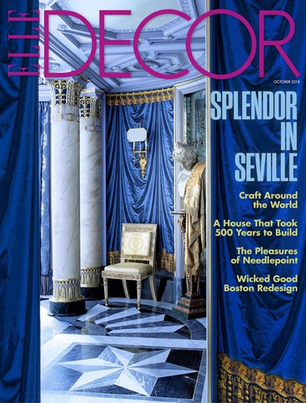 ELLE DECOR Cover - 10/1/2018