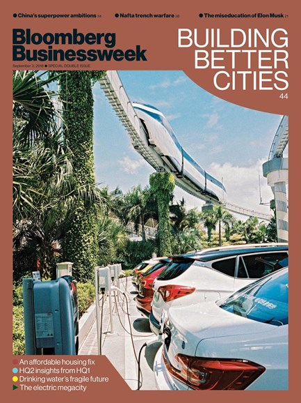 Bloomberg Businessweek Cover - 9/3/2018