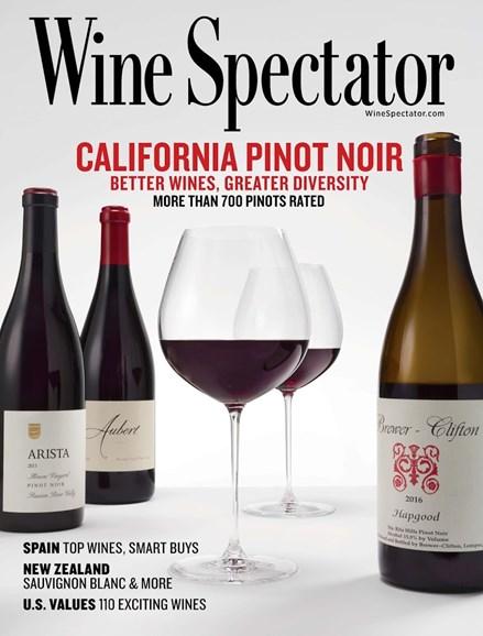 Wine Spectator Cover - 10/15/2018