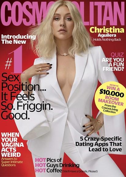 Cosmopolitan Cover - 10/1/2018