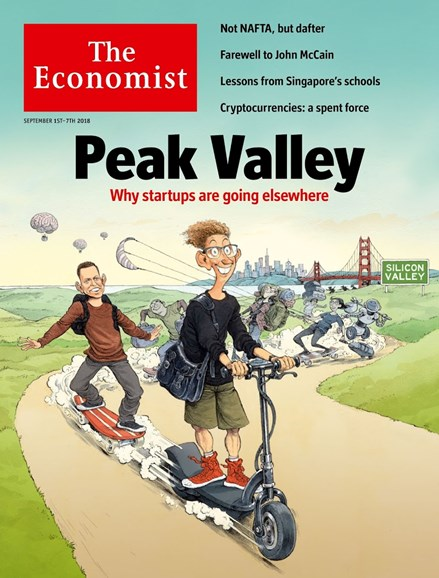 The Economist Cover - 9/1/2018