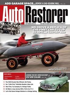 Auto Restorer | 9/2018 Cover