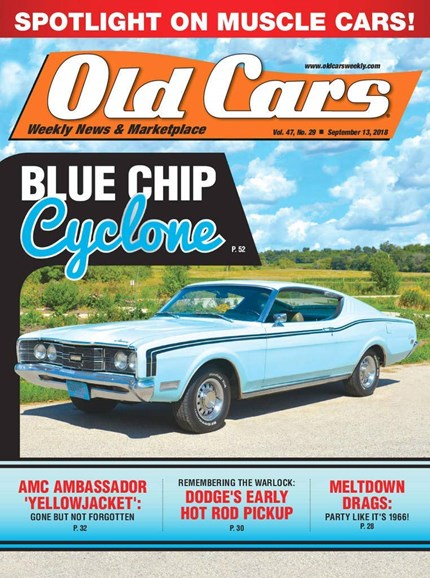 Old Cars Cover - 9/13/2018
