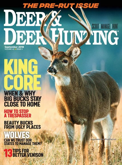 Deer & Deer Hunting Cover - 9/2/2018