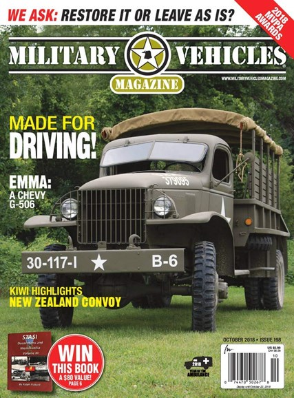 Military Vehicles Cover - 10/1/2018